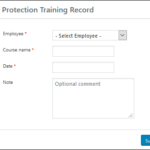 WP-HR GDPR Add Training Record
