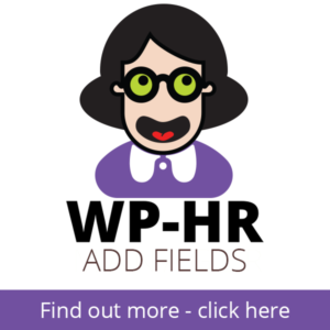 WP-HR Add Fields