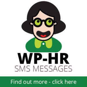 WP-HR SMS Messages