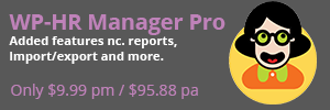 WP-HR Manager Pro